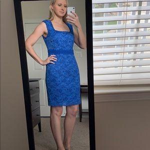 Ann Taylor Blue Dress. Size 4, fits more like a 6.